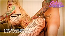 Sabrina Sabrok big tits blonde with huge booty  analled
