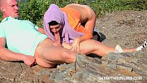 Czech teen muslim girl Mila Fox and her horny boyfriend were on a walk. Randy guy thinks only of sex. They enjoyed outdoor sex with a view of beautiful Prague. preview image