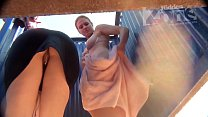 Airtel 4G Girl Nude » Spying on two beauties in the beach cabin thumbnail