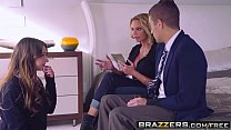 Brazzers - Moms in control -  The Loophole scene starring Briana Banks, Taylor Sands and Xander Corv