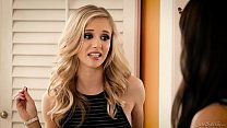 Fake babysitter have fun with a husband - Bianca Breeze and Rachel James