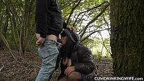 Slutwife Marion gangbanged by hundreds of guys image