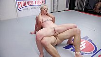 Mixed Nude Wrestling Fight Kay Carter Fucked Ro