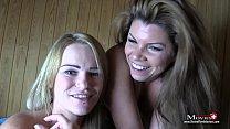Amanda Und Aira   Bi Spiele Mit Sperma In Der S