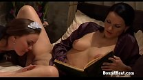 On Consignment 3: Lesbian Maid Licks And Fingers Mistresses Pussy pornhub video