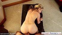 Sexy housewife Karla Kush fucking in POV thumbnail