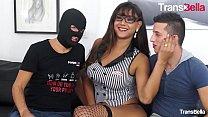 TRANSBELLA   Busty Tranny Letizia Sallis Gets S