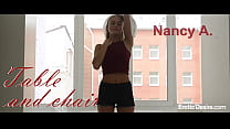 Nancy A - Table and chair. Visit Eroticdesire.com to see full video. Thumbnail