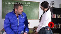 The Erotic afair after class Kittina Ivory  en ... Thumbnail