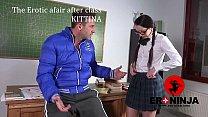 The Erotic Afair After Class Kittina Ivory  En 089 Sample