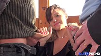 5666 La belle Kimberley revient pour essayer la double pénétration [Full Video] preview