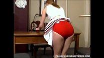 Spanking Teen Jessica - Cheerleader Paddling with Kailee thumbnail