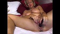 Cougar Milf Enjoys Masturbating With Dildo On Cam
