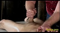 Naughty fetish treatment for a hunk