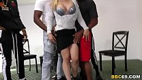 Interracial Group Sex With Anal Slut Sarah Vandella