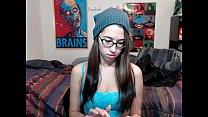 6cam.biz teen alexxxcoal flashing boobs on live webcam