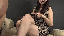 Worshiping Miss Tara's Feet