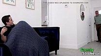 FamilySTROKE.net - Ebony Stepsis Whoring Beside Sleeping Dad pornhub video
