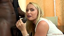 12010 Your gorgeous WHITE wife FUCKING your boss's 11 inches BIG, BLACK COCK right front of you! preview
