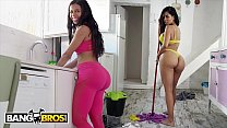 BANGBROS - Big Booty Maid Canela Skin Gets Fucked By Pablo Ferrari preview image