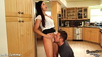 Brunette milf India Summer fuck