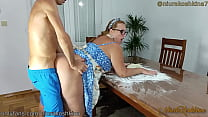 Pregnant Cooking Mom Gets A Fuck From Her Son R