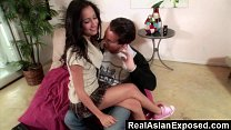RealAsianExposed - Amia Miley Is One Naughty Ba...