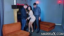 MARISKAX Mariska Gets Double Stuffed And Savors
