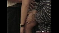 Old gropers young girl's big breasts grabbed by old man part1b Image