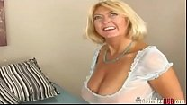 Screenshot Lucky Dude Fucking Busty Gilf Blonde