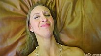 Super hot amateur does it all on a casting couch