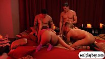 Perverted swingers swap partner and orgy thumb