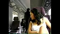 Girlfriend masturbates for you on a train - Part 1 preview image