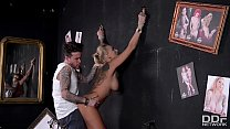 Beautiful Tattooed Milf Kayla Green gets tied up and Fucked Deep