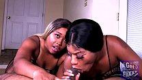 Nina Rivera And Angel Love Double Team My DICK