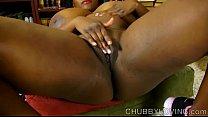 Busty black BBW thinks of you as she fucks her juicy pussy صورة
