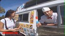 Gullibleteens.com icecream truck schoolgirl gets more than icecream in pigtails Vorschaubild