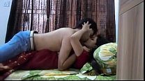 Young Boy Romance With College Teacher in Bed Room thumbnail