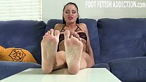 Your little foot fetish is actually kind of hot