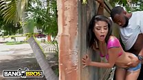 BANGBROS - Ebony Maya Bijou Gets Fucked in Public By Multiple Guys Preview