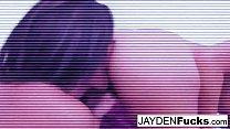 Jayden Jaymes Plays With Her Big Boobs thumb