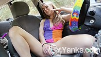 Yanks Blondie Mab Dabble's Car Cum