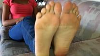 Brandy's Feet Video 1 Preview porn image