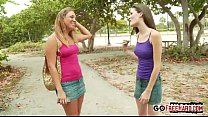Stacey Hopkins Gets Bent Over By Monica Sexxxton;