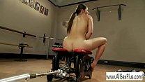 Riding a sex machine - download porn videos