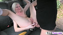 Perky tits babe anal fucked in the cab pornhub video