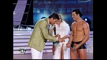 Virginia Gallardo - Bailando 2010 - Strip Dance porn thumbnail