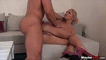 Euro Blonde fucks anally Vanda Lust 1 4 pornhub video