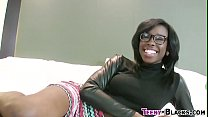 Screenshot Ebony Babe Gets Cumshot