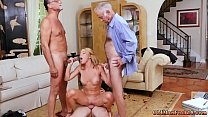 Petite blonde gagging Frannkie And The Gang Tag...